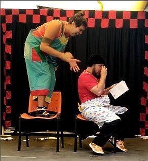 Show de palhaço e mágica festa infantil